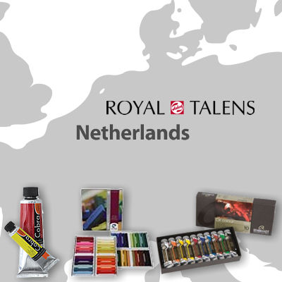 map-royal-talens-netherlands
